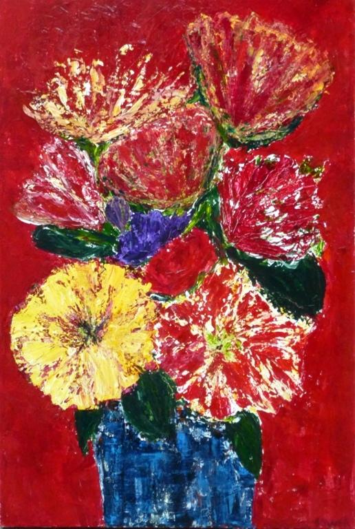 24 x 36. Acrylic on canvas