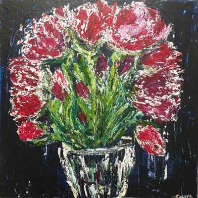 Acrylic on canvas 36 x 36