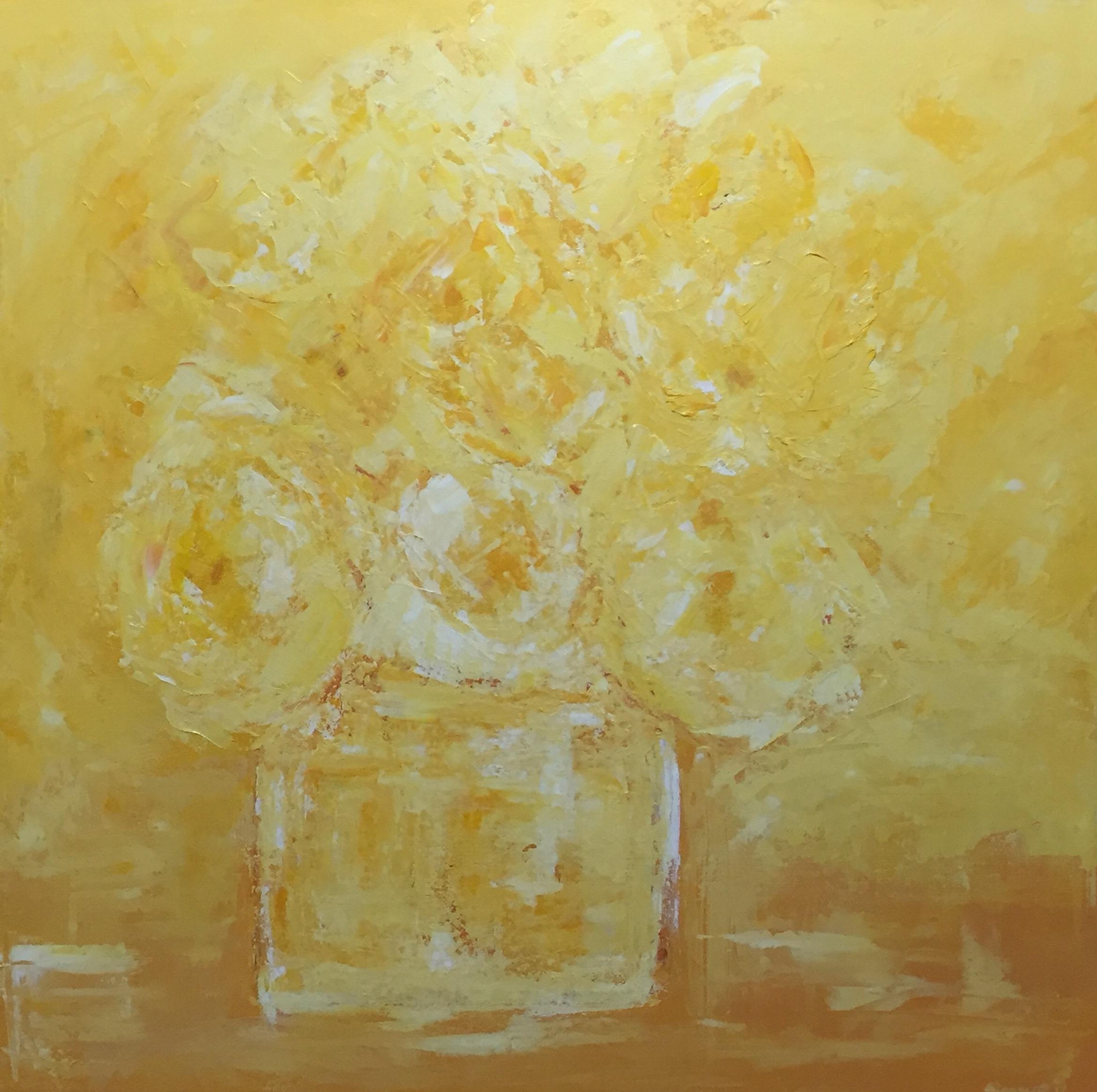 30 x 30. Acrylic on canvas