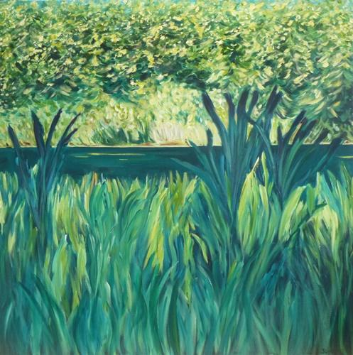 Acrylic on canvas 48 x 48