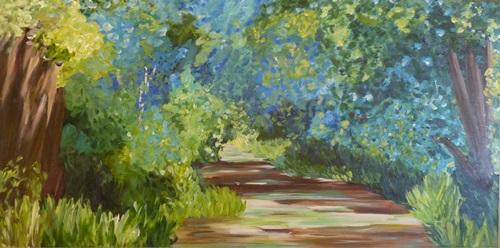 Acrylic on canvas 24 x 48