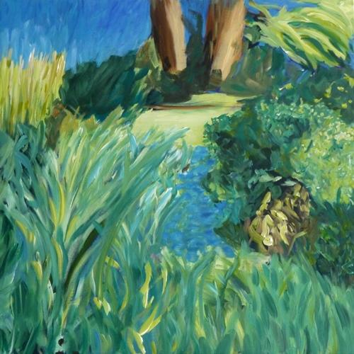 Acrylic on canvas 30 x 30